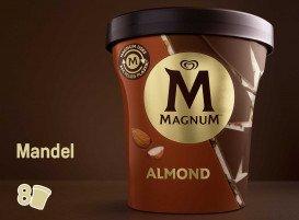 Magnum Amande glace pot 440 ml -