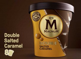 Magnum Double Salted Caramel glace pot 440 ml -
