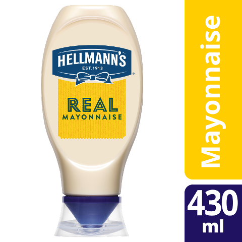 Hellmann's REAL Mayonnaise 430ml Squeezer