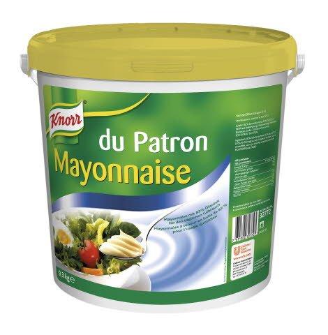 Knorr Mayonnaise du Patron 82% M.G. 9,3 KG -