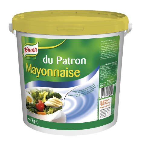 Knorr Mayonnaise du Patron 82% M.G. 4,7 KG -