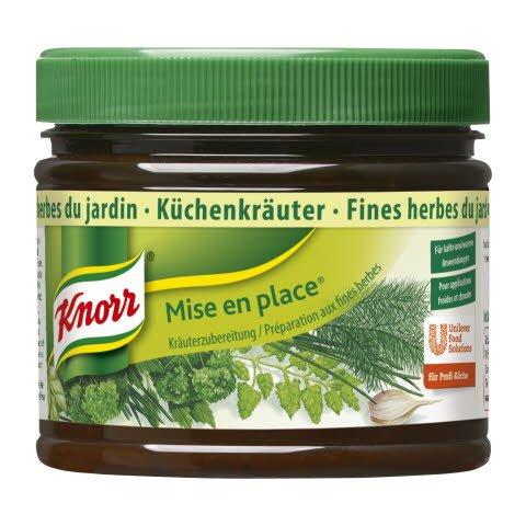 Knorr MEP Garden Herbs 20% less salt 340 g -