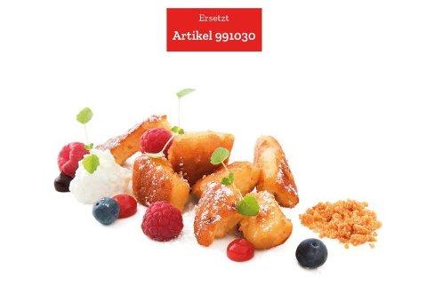 Caterline Omelette rissole avec séré et lait entier - oeufs d'élevage en plein air 2 x 2,5 KG (10 portions à env. 250 g) -