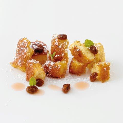 Caterline Omelette rissolée avec raisins secs – surgelé 2,5 KG (10 portions à env. 250 g)