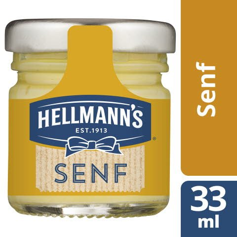 Hellmann's Moutarde mi-forte 80x33ml