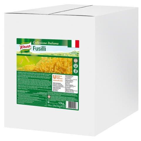 Knorr Pâtes Fusilli 3 kg - Knorr Tomatino, une sauce tomate fruitée finementtamisée, préparée à partir des meilleures tomates italiennes issuesde  l'agriculture durable.