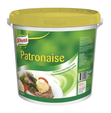 Knorr Patronaise Mayonnaise ferme pour salade 10 KG -