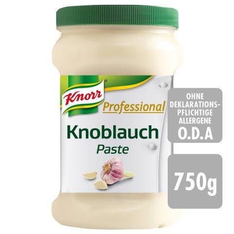 Knorr Professional Ail Pâte 750 g - Les pâtes d'épices KNORR PROFESSIONAL sont toujours prêtes à l'emploi.