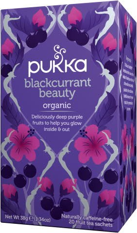 Pukka Bio Infusion Blackcurrant Beauty 20 sachets -