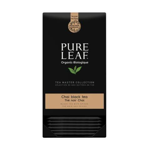 Pure Leaf Chai thé noir biologique 25 sachets pyramide -