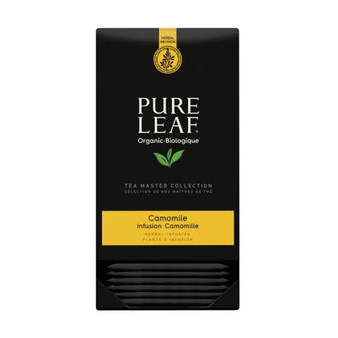 Pure Leaf biologique thé d'herbes camomille 20 sachets pyramide -