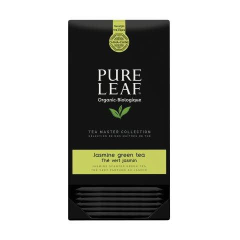 Pure Leaf thé vert avec Jasmin biologique 25 sachets pyramide -