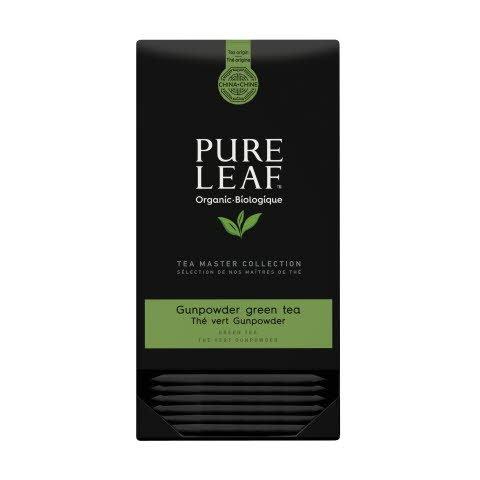 Pure Leaf biologique thé vert Gunpowder 25 sachets pyramide -