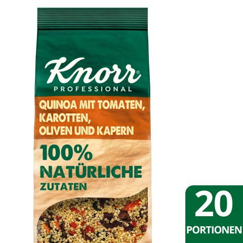 Knorr Quinoa aux tomates, carottes, olives et câpres 548 g -