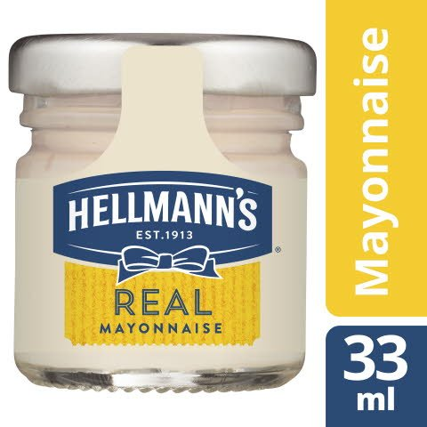 Hellmann's REAL Mayonnaise 80x33ml