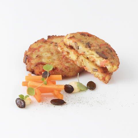 Caterline Rösti de pommes de terre et graines de courge 3 KG (60 pièces à env. 50 g) -