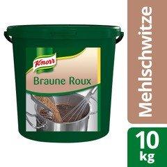 Knorr Roux Brun 10 KG - Knorr Roux – recette authentique pour des plats réussis en un tour de main.