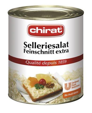 Chirat Salade de céleri coupe extra-fine 2,85 KG -