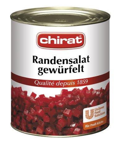 Chirat Salade de racines rouges en cubes 2,95 KG -