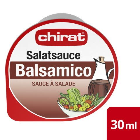 Chirat Sauce à Salade Balsamico 70 x 30 ml