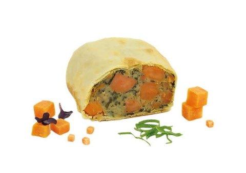 Caterline Strudels farcis aux patates douces, végétalien 0.75 KG -
