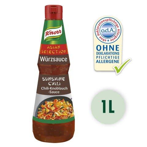 Knorr SUNSHINE CHILI Sauce de chili et à l'ail 1 L