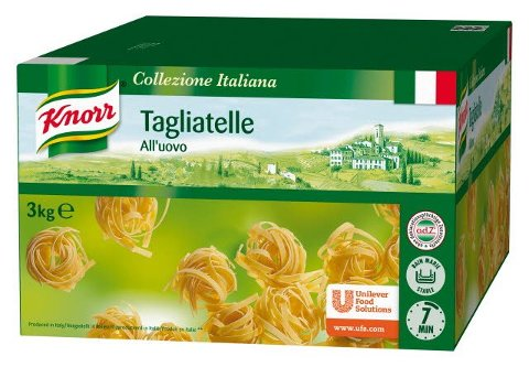 Knorr Tagliatelle All´uovo 3 KG