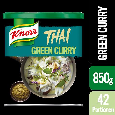 """Knorr Thai Green Curry Paste 850 g - """"Des produitsauthentiques avecdes ingrédientsthaïlandais."""""""