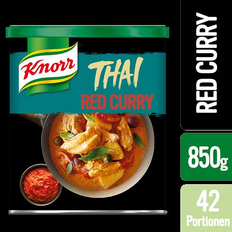 """Knorr Thai Red Curry Paste 850 g - """"Des produitsauthentiques avecdes ingrédientsthaïlandais."""""""