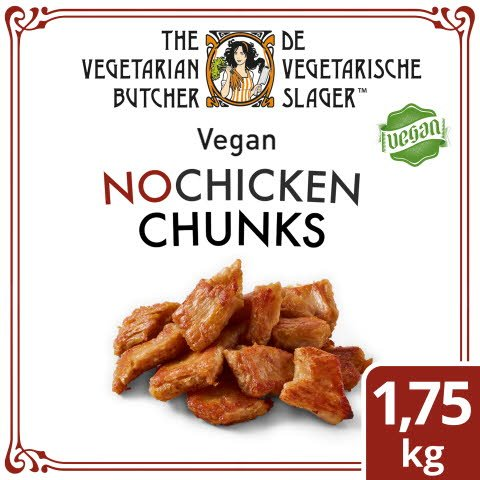 The Vegetarian Butcher – Vegan Chunks - Alternative végétalienne d'un émincé de poulet à base de soja 1,75KG -