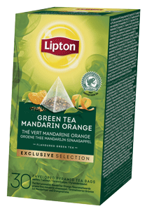 Lipton Thé Vert Mandarine Orange Pyramid 30 sachets