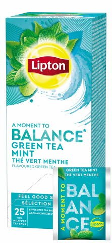 Lipton Thé Vert Menthe 25 sachets -