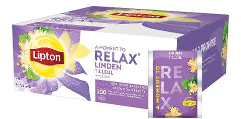 Lipton Infusion Tilleuil 100 sachets -