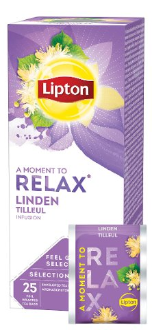 Lipton Infusion Tilleuil 25 sachets -