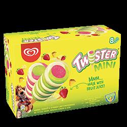 Langnese Twister Mini Eis am Stiel 8 x 50 ml -