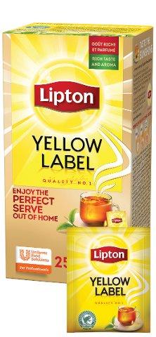 Lipton Yellow Label Thé Noir 25 sachets -