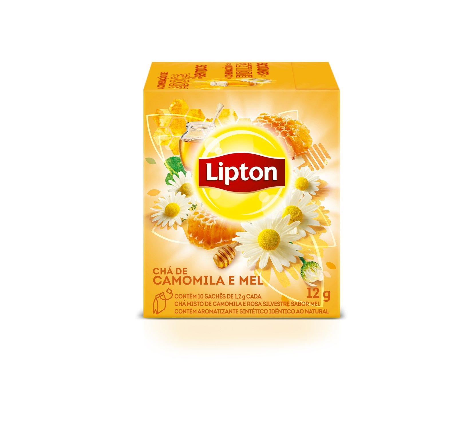 Chá Lipton - Camomila e Mel -
