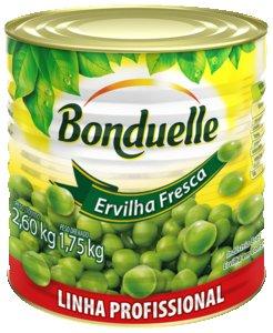 Ervilha em Conserva Profissional Bonduelle 1,75 kg -