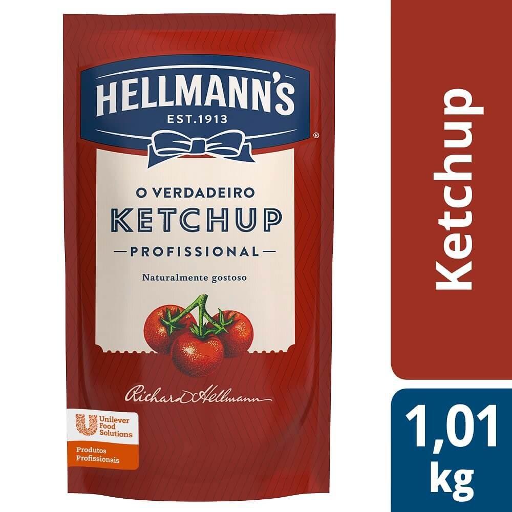 Ketchup Hellmann's Doypack 1,01 kg -