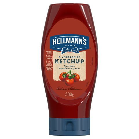 Ketchup Hellmann's Squeeze 380 g -