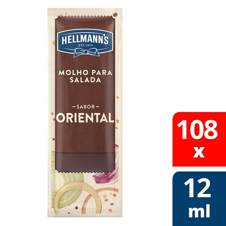 Molho para Salada Hellmann's Oriental 12 ml
