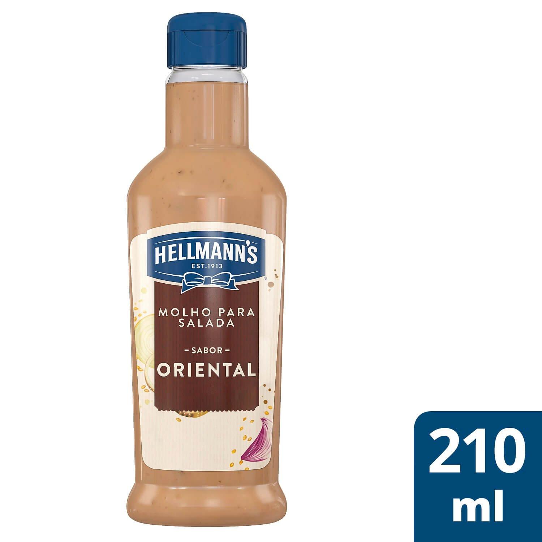 Molho para Salada Hellmann's Oriental 210 ml -