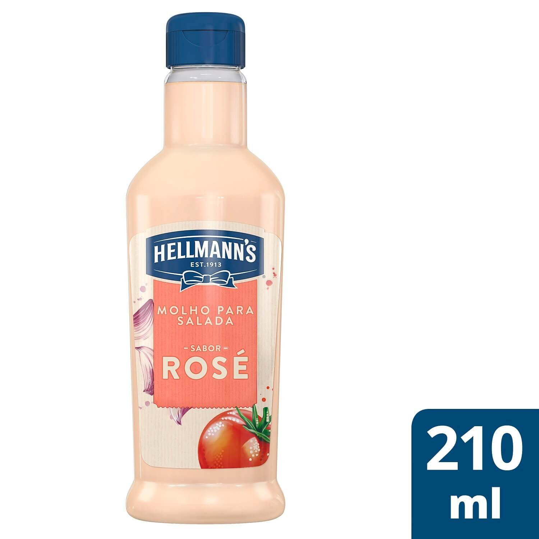 Molho para Salada Hellmann's Rosé 210 ml