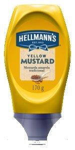 Mostarda Hellmann's Squeeze 170 g -