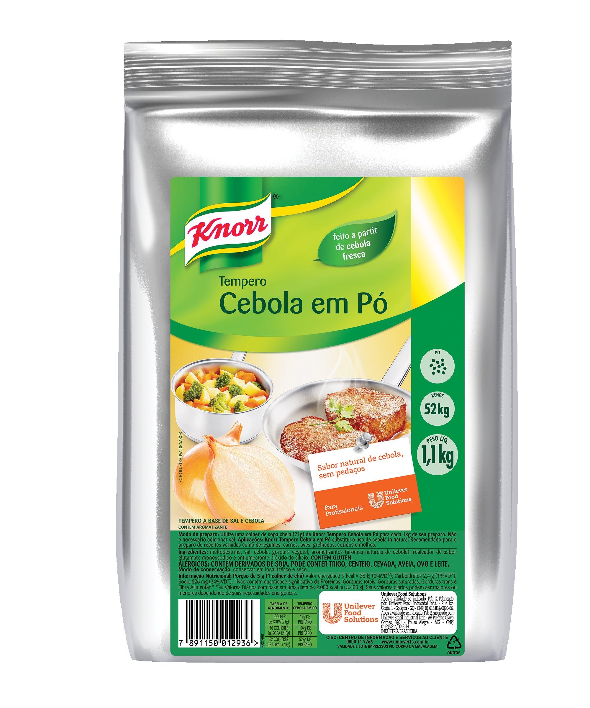 Tempero Cebola em Pó Knorr 1,1 kg