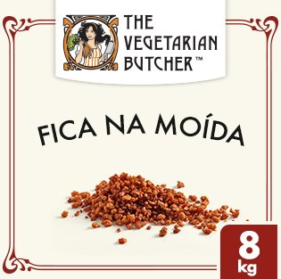 The Vegetarian Butcher Carne Moída Vegetal -