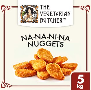 The Vegetarian Butcher Nuggets Vegetal -
