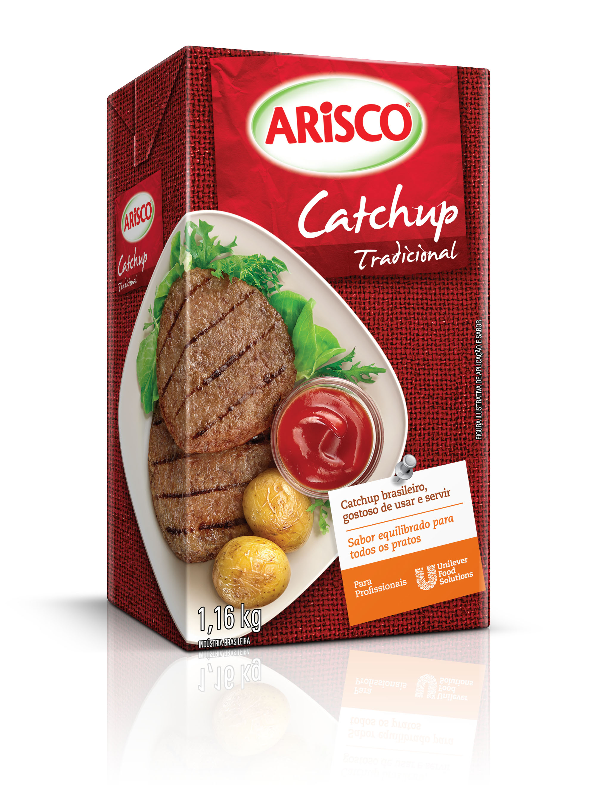 Catchup Arisco 1,16 kg - Catchup Arisco 1,16 kg