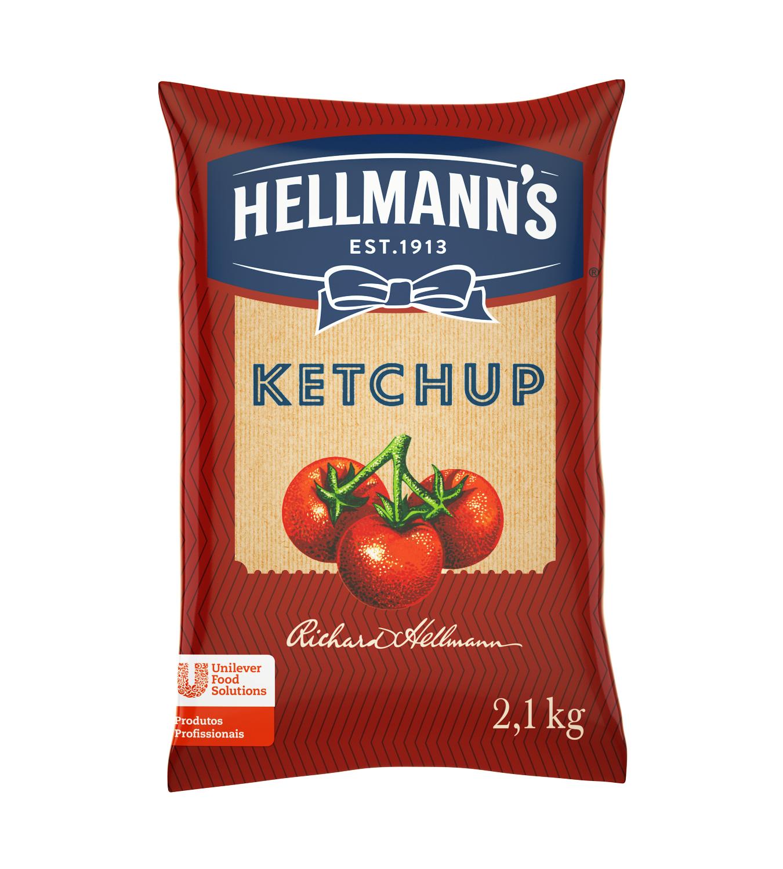 Ketchup Hellmann's - Saco 2,1 kg