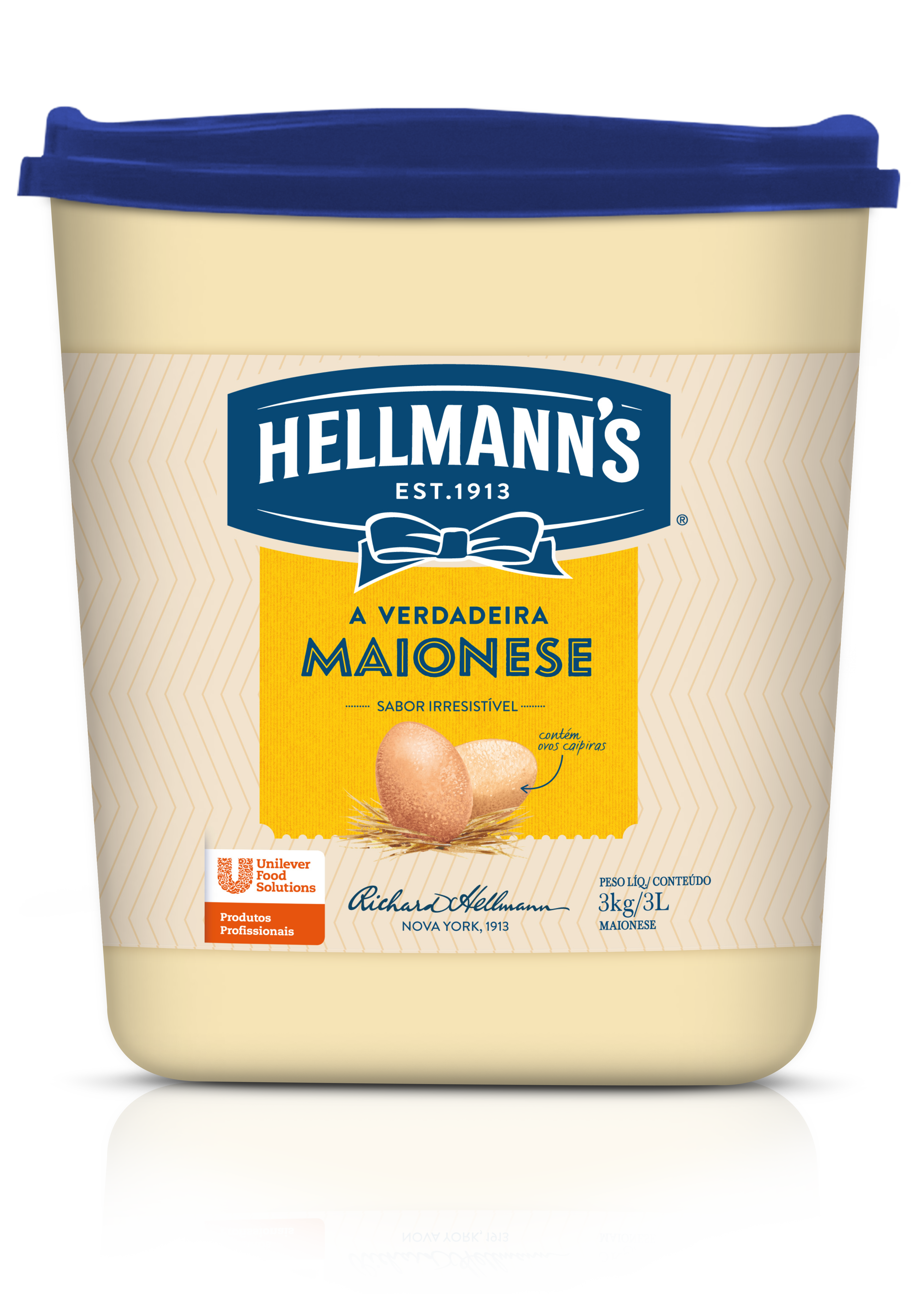 Maionese Hellmann's Balde 3 kg